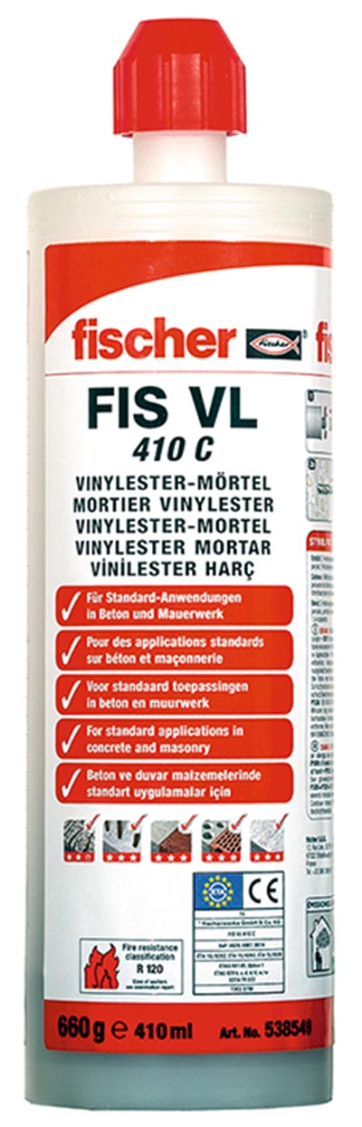 Injection mortar FIS VL, FIS VL HIGH SPEED