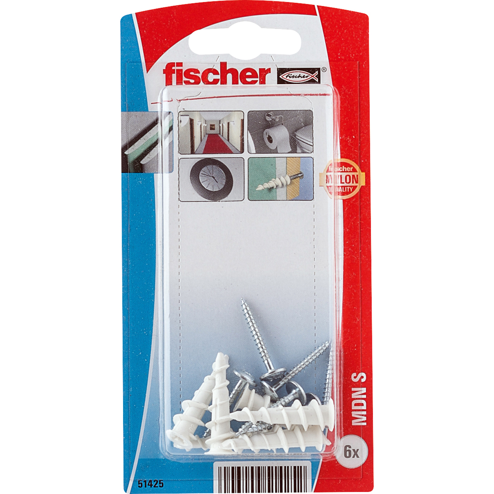Plasterboard fixing GK with drill bit tip