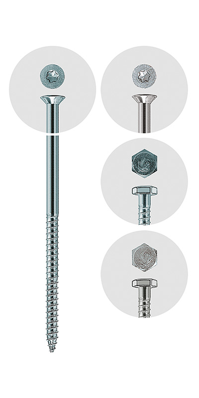Safety screw for GB