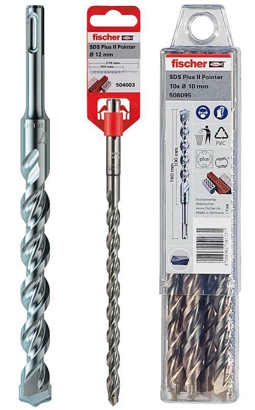 Hammer drill bit SDS Plus II Pointer
